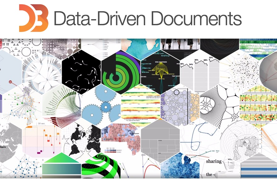A Screenshot Of The D3 Js Homepage